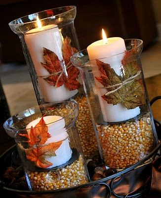 Cheap Fall/Thanksgiving decorations & Cheap Thanksgiving Table Decor Photograph | Cheap Fall/Thank