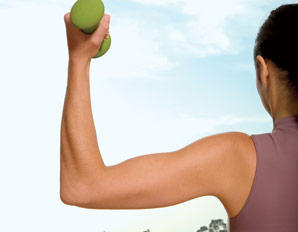 Tone Your Arms–in 10 Minutes!  Show off sleek arms in 4 weeks with this targete