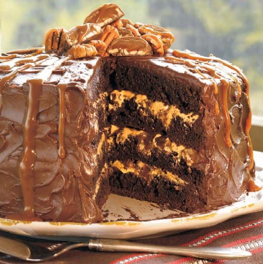 Southern Living Chocolate Turtle Cake Recipe