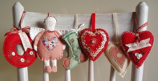 handmade christmas ornaments pinpoint