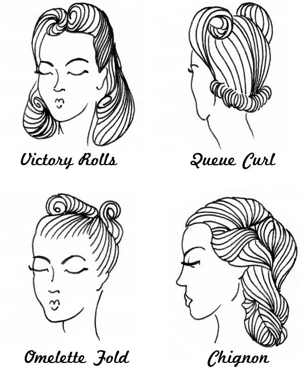 Awe Inspiring Hairstyles 40S Short Hairstyles Gunalazisus