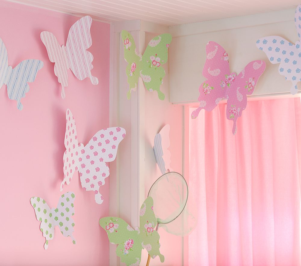 Как украсит комнату своими руками для девочки