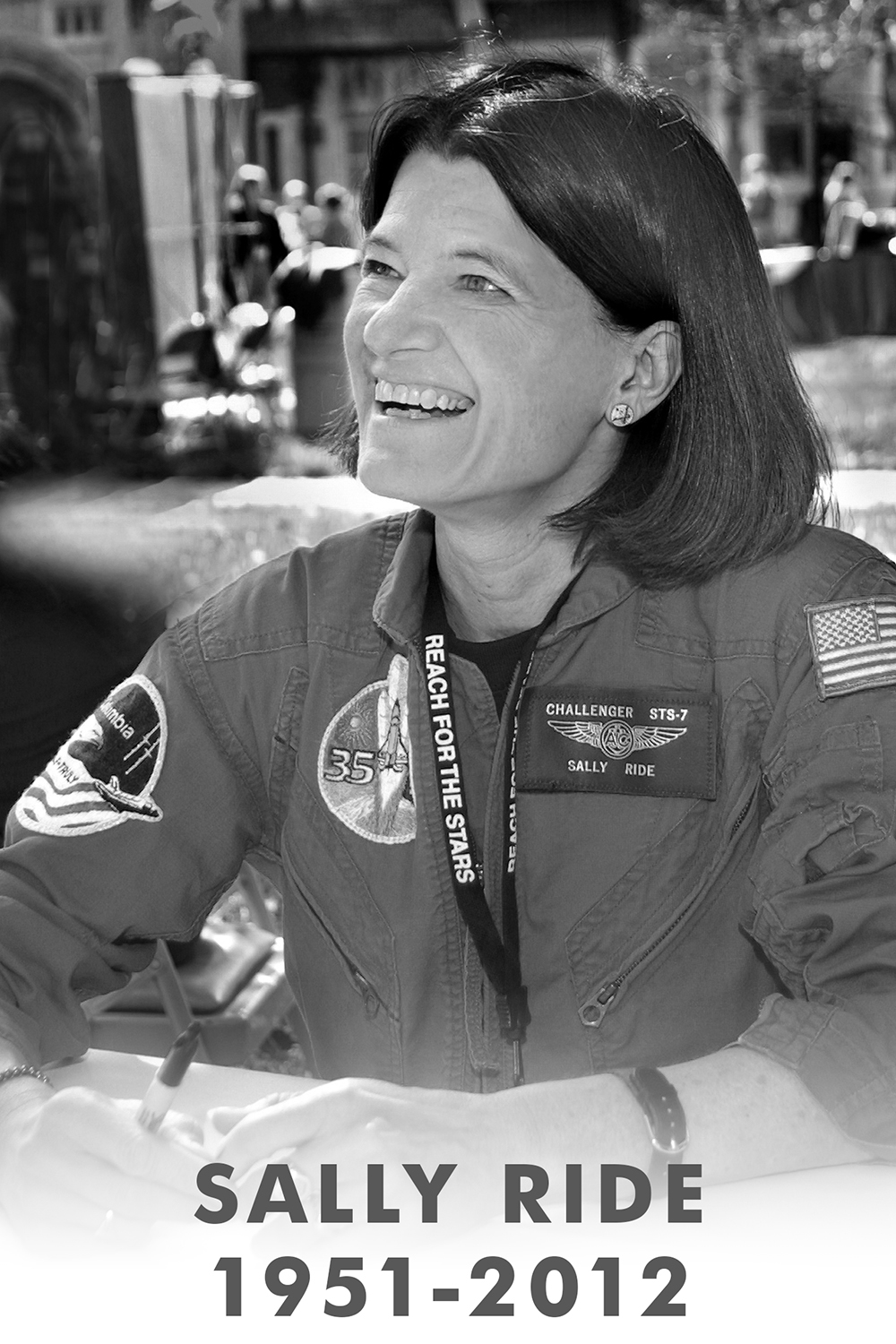 """a biography of the first women in space sally ride Dr sally ride, the first us woman to travel to space, died monday at age 61 after a 17-month battle with pancreatic cancer """"sally lived her life to the fullest."""