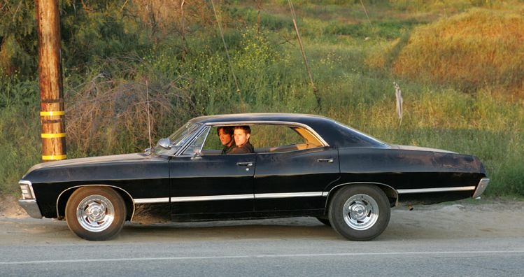 supernatural 1967 chevy impala pinpoint. Black Bedroom Furniture Sets. Home Design Ideas