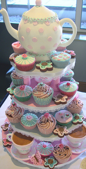 little tea party amazing such a cute baby girl shower or little girl