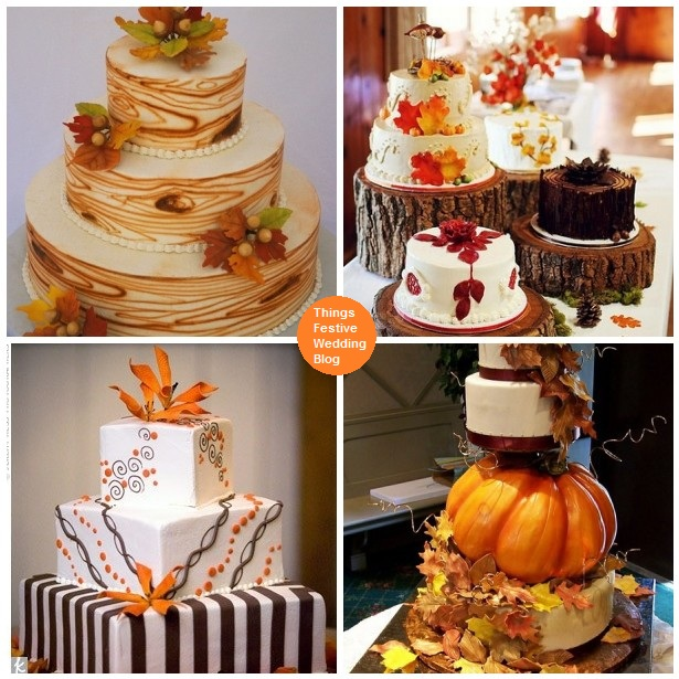 Fall Wedding Cakes PinPoint