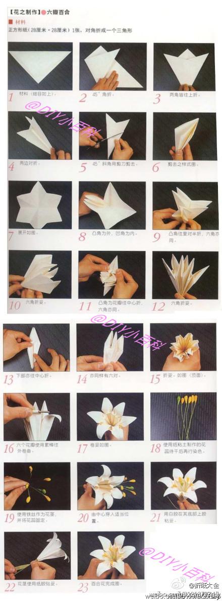 Как делать цветы из бумаги своими руками инструкция - На ракете