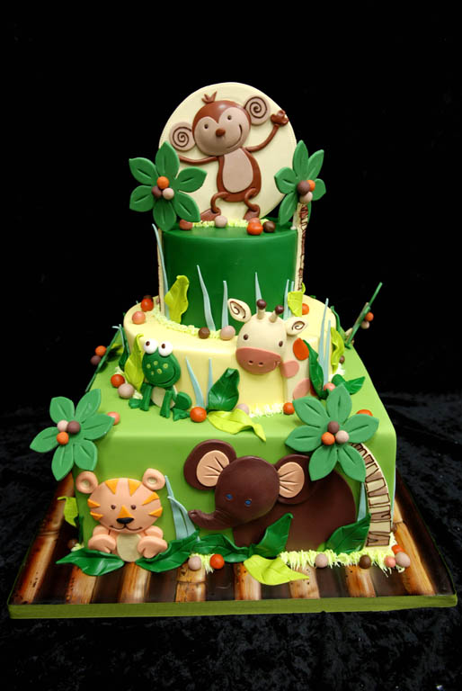 Babys Birthday Cake Too Cute!  PinPoint