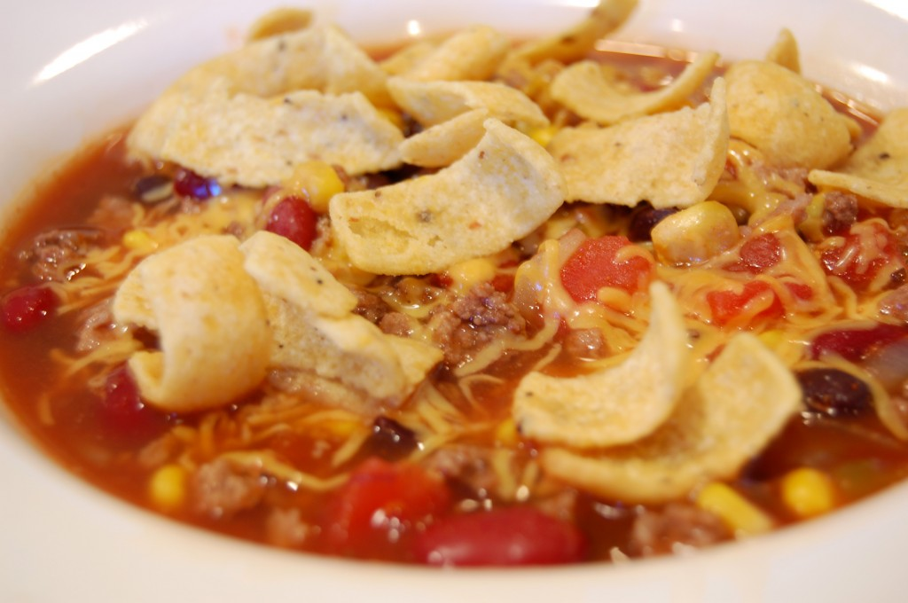 Taco soup! Taco soup! Taco soup! Love this stuff. | PinPoint