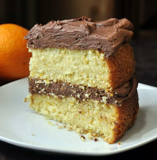 Chocolate Cake With Chocolate-Orange Frosting Recipes — Dishmaps
