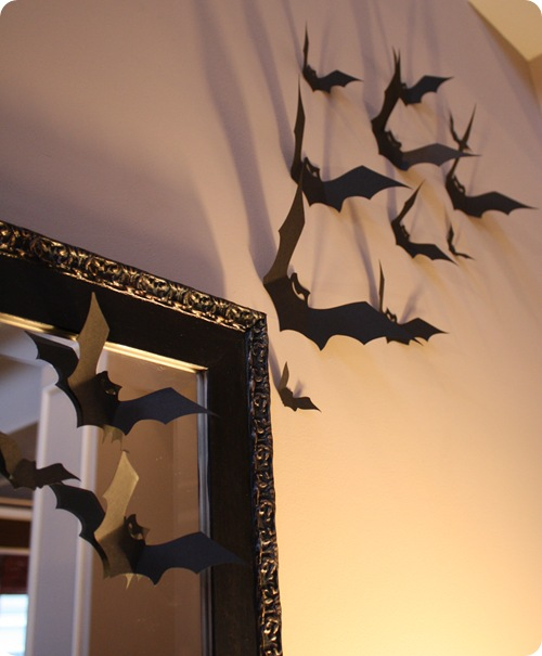 Halloween decorations – cut-out bats | PinPoint