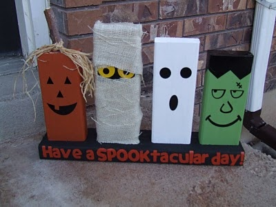 Halloween decorations diy pinpoint for Cute halloween decorations to make at home