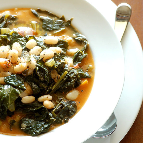 savory kale, cannellini bean, and potato soup. perfect for fall ...