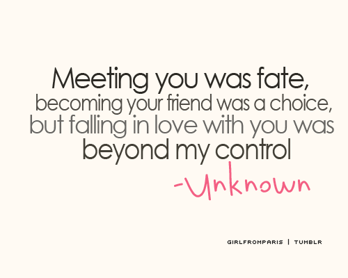 Falling In Love With My Baby Quotes : But falling in love with you was beyond my control pinpoint
