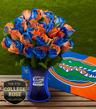 The FTD® University of Florida® Gators® Rose Bouquet