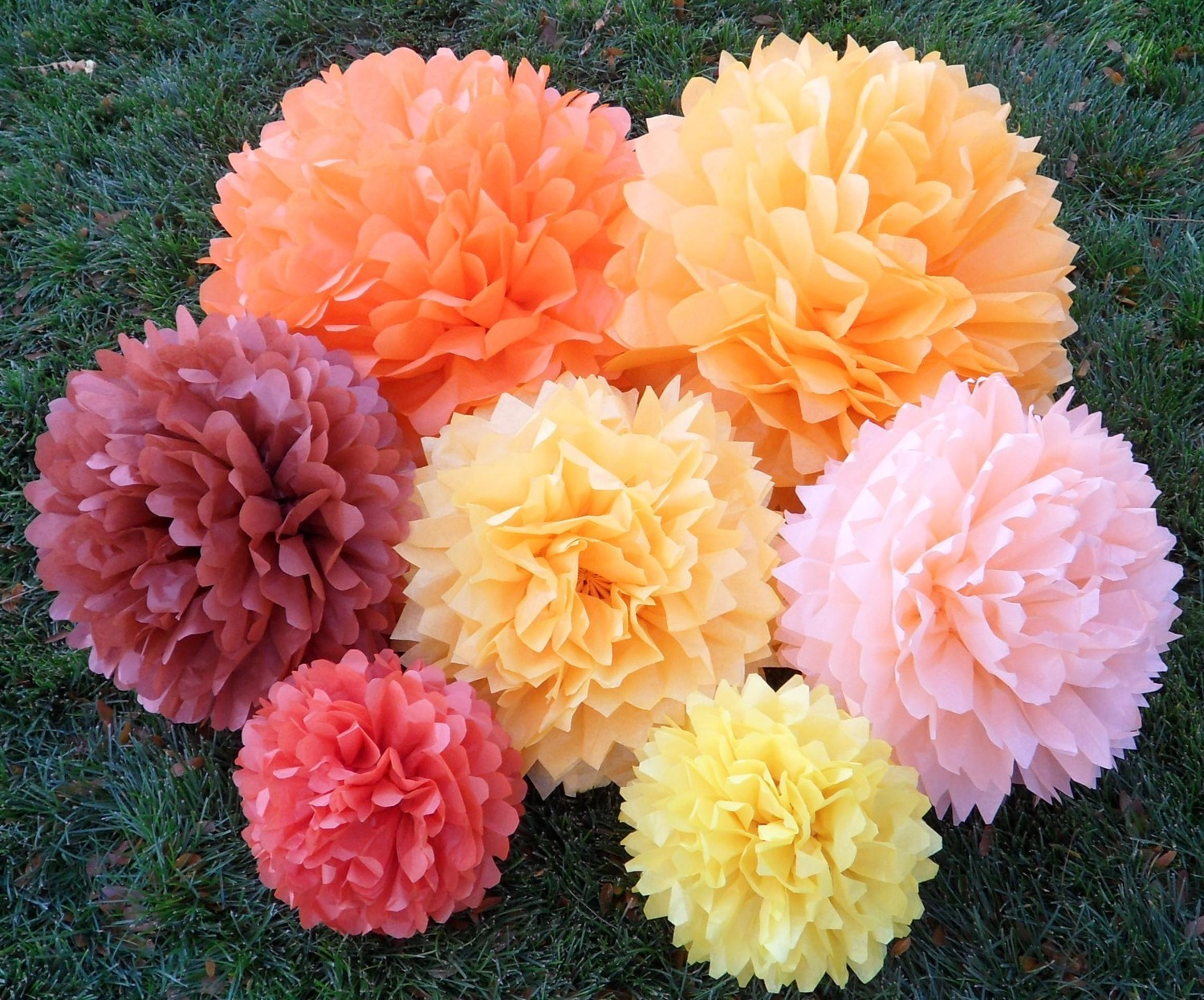 More Tissue Paper Flowers — Crafthubs