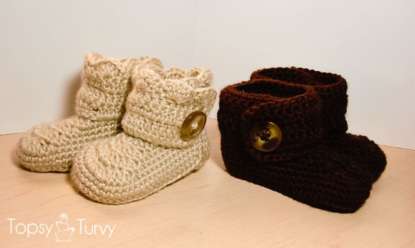 Crochet Newborn Booties Pattern Baby Shoes Pattern, Baby Girl ...