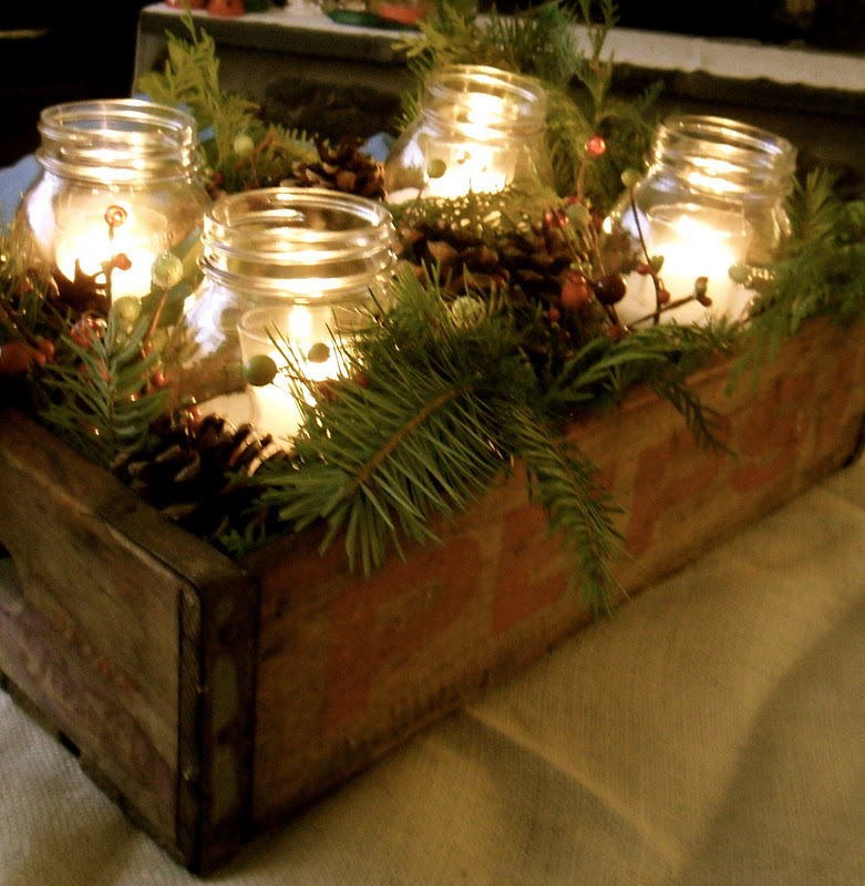 Christmas Centerpiece For Coffee Table : Christmas centerpiece for outdoor coffee table pinpoint
