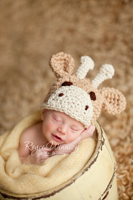 Crochet Pattern Giraffe Hat : Crochet Giraffe Hat PinPoint