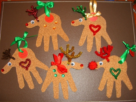 Christmas Crafts for Kids- Reindeer Christmas Cards and ...