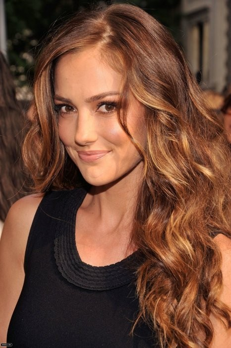 Light brown hair color ideas_Minka Kelly's ombre hair…not sure if ...