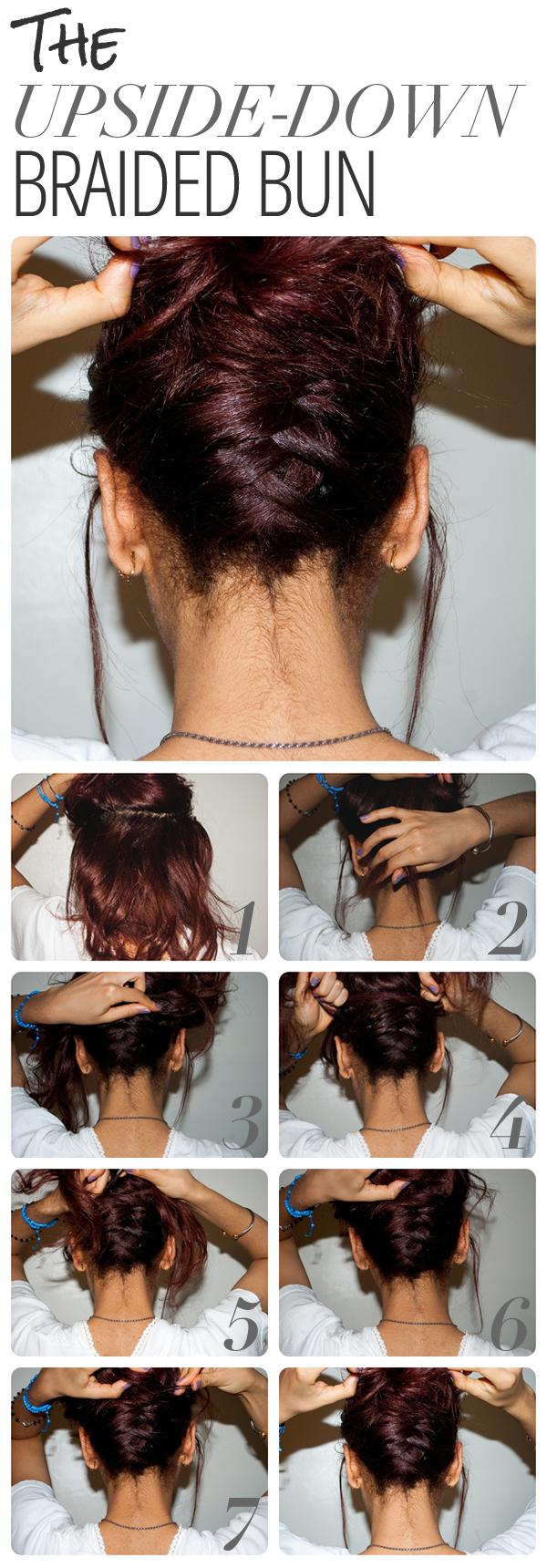 Причёска на волосы по плечо своими руками в домашних условиях