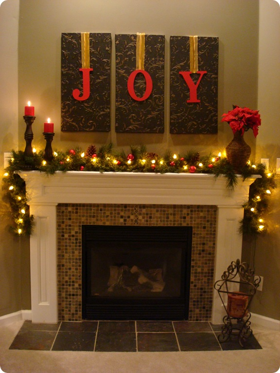 Easy Mantle Decor Pinpoint
