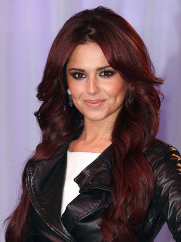 Great auburn hair color pinpoint