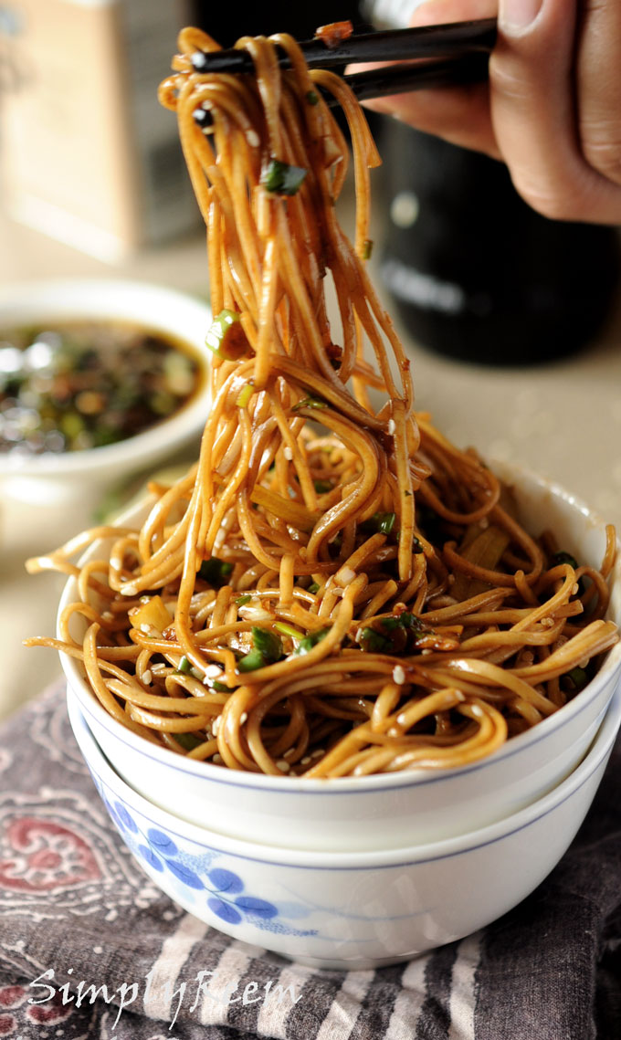 Soba Noodles with Sweet Ginger Scallion Sauce | Most Popular Pins