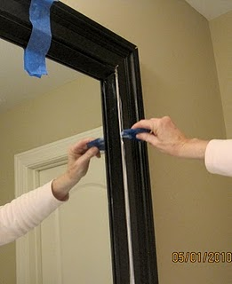 Mirror Frame Tutorial How To Make Custom Looking Frame For Around Contracto