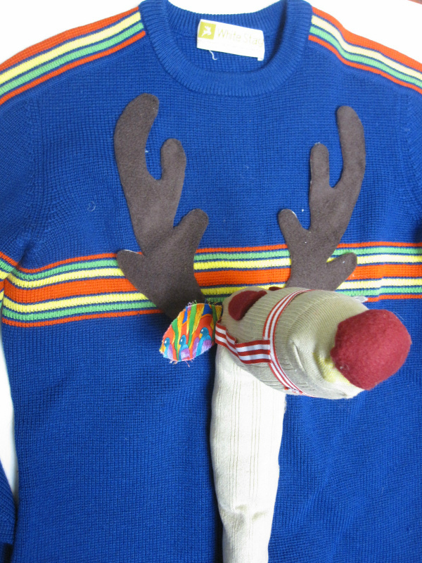 This could definetely win an ugly christmas sweater contest