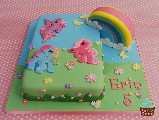 My Little Pony birthday cake  PinPoint