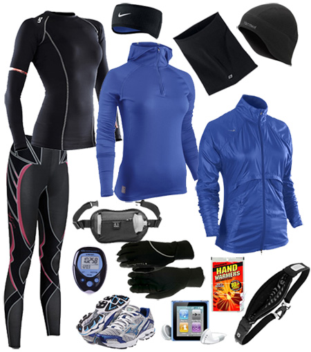 Four Pieces of Clothing to Wear Running Outside | The Fashion Foot