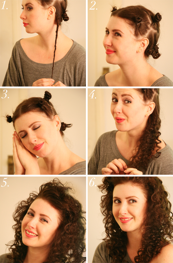 Локоны на волосы в домашних условиях