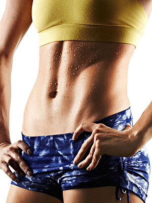 The Power Abs Workout Shrink your waist, improve your ...