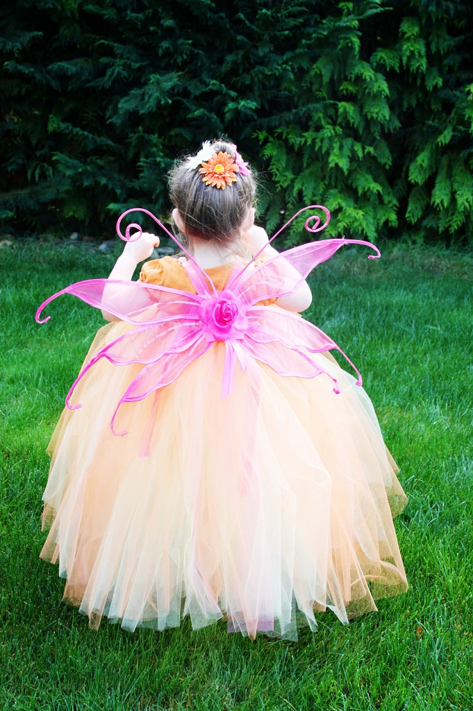 Tutu fairy costume tutu dress tutorial pinpoint