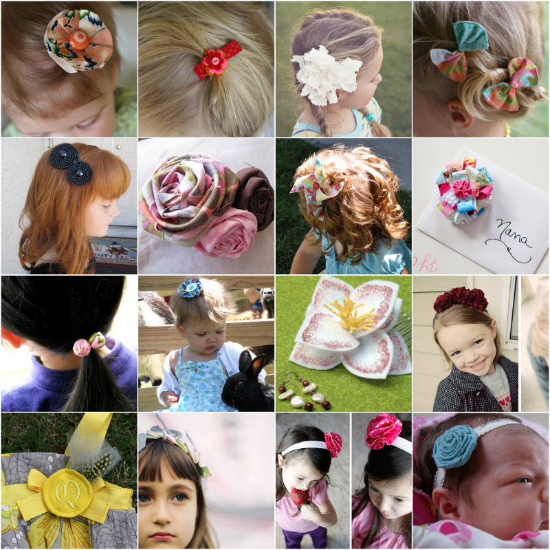 DIY Hair Accessories ⋆ PinPoint