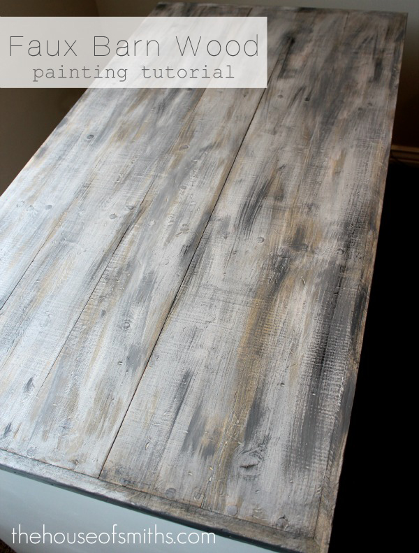 Faux Barn Wood Painting Tutorial Pinpoint