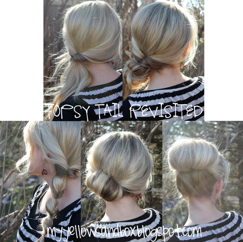 Creative Quickeasyhairstylesquick_easy_hairstyle_ideas1jpg