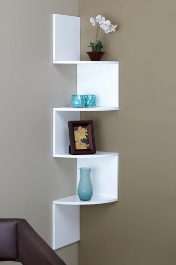 Corner wall shelves  PinPoint