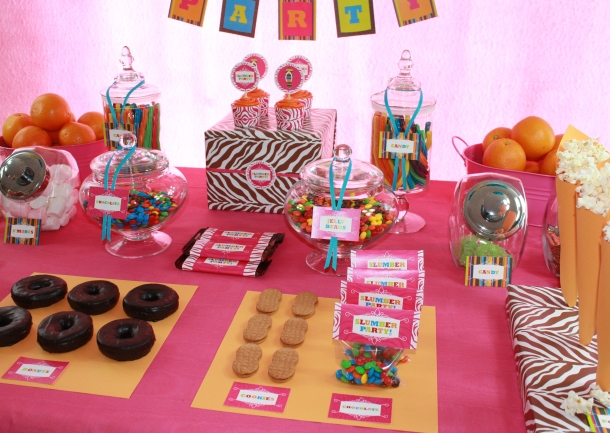 Pictures of Slumber Party Decorations http://webcodeshools.com/Slumber_Party_Snack_Ideas/