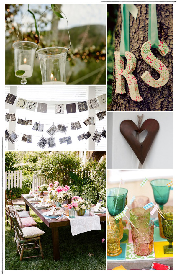 Backyard Party Decorations : backyard engagement party ideas  PinPoint