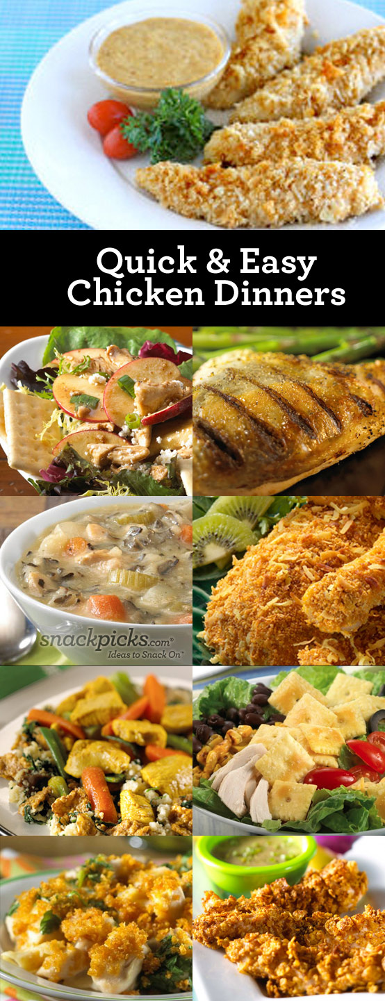 Top 28 easy chicken dinner ideas violet s buds easy for What can i make for dinner with chicken