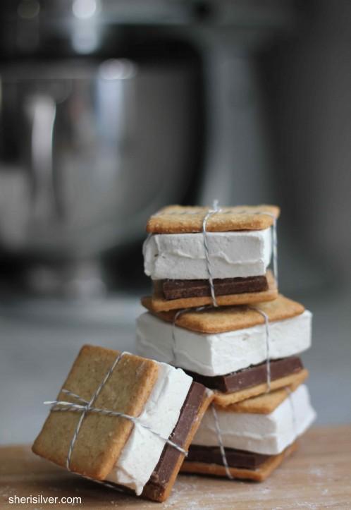 homemade grams, homemade marshmallows, homemade smores | PinPoint