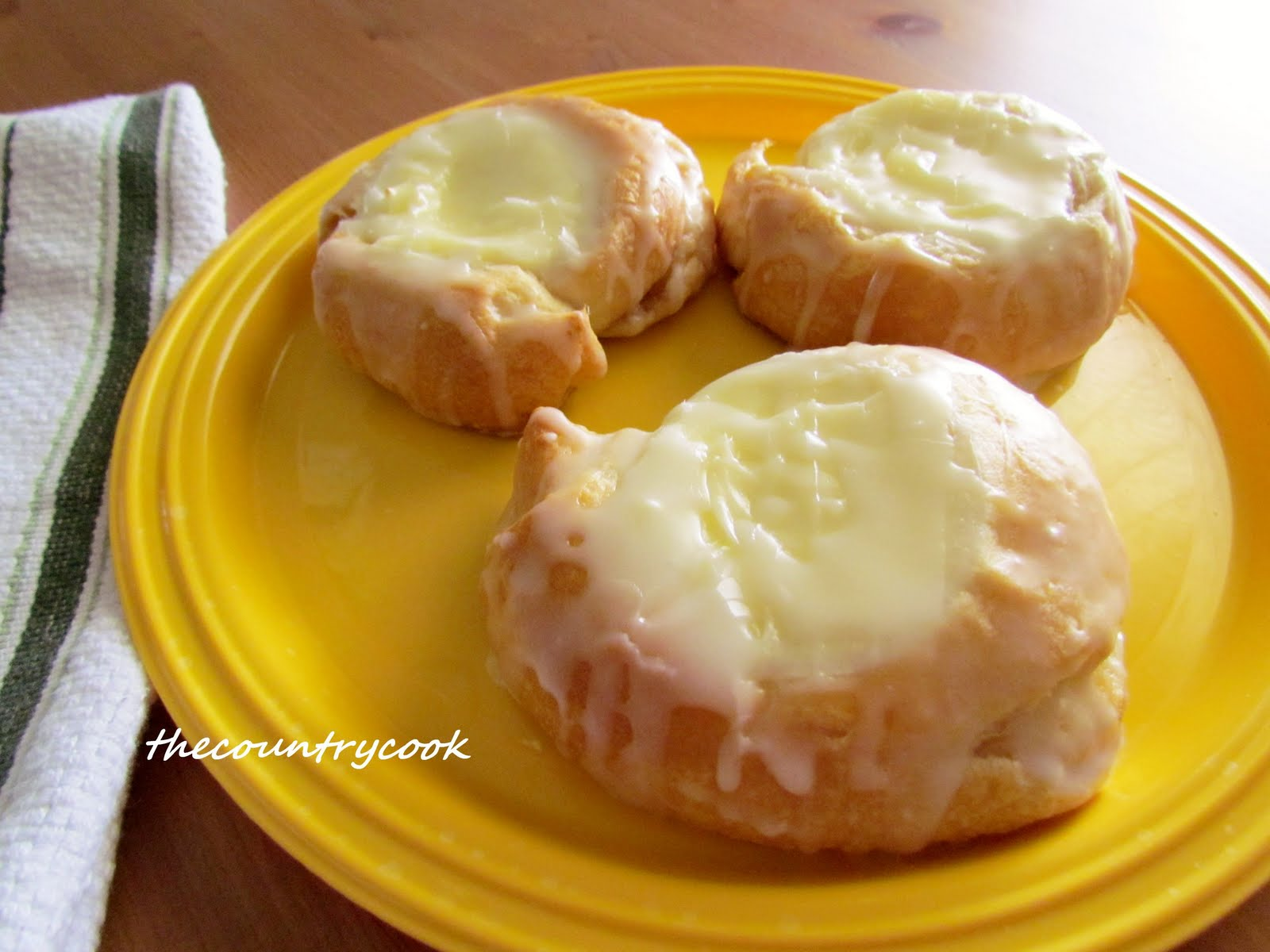 Easy Cream Cheese Danish Recipe — Dishmaps
