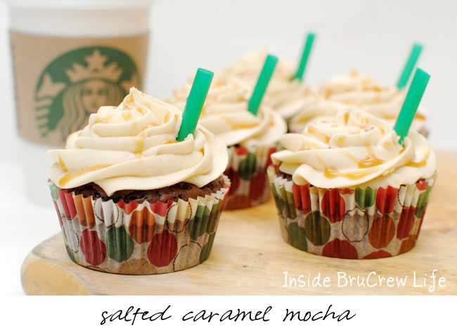 Starbucks Cupcakes!!! Recipes for Peppermint Mocha, Pumpkin Spice ...