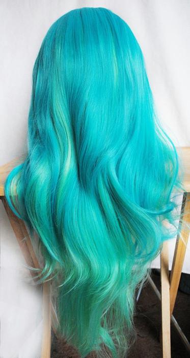 Фото бирюзовых волос