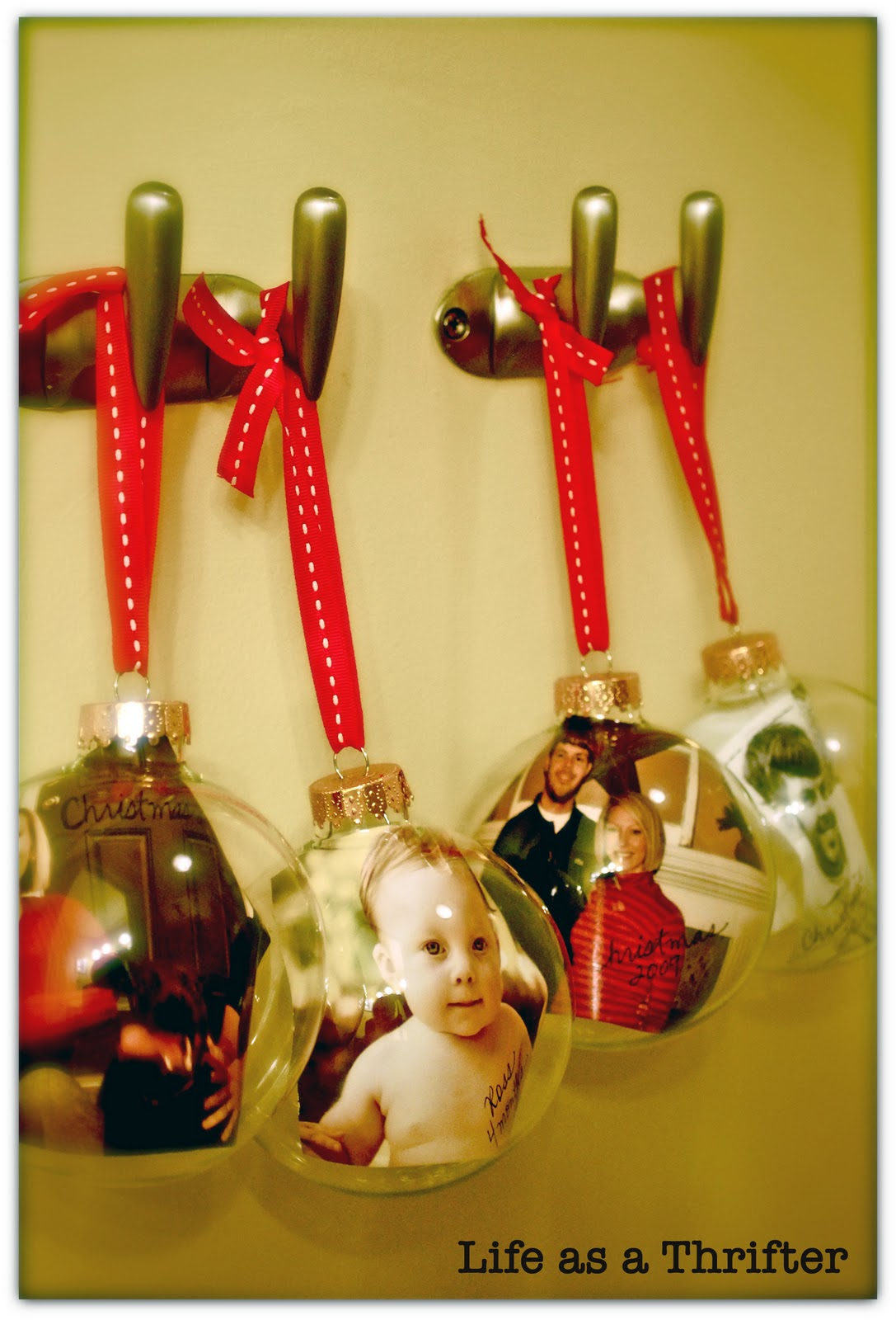 Diy Photo Christmas Ornaments Pinpoint