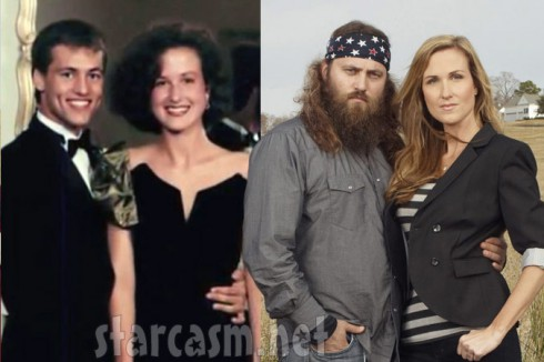 Duck Dynasty – before and after the beard