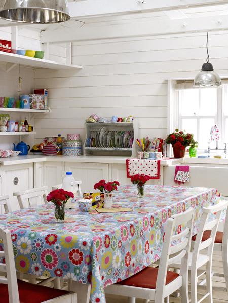 cath kidston style kitchen pinpoint